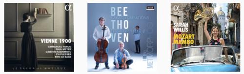 Classical music album covers