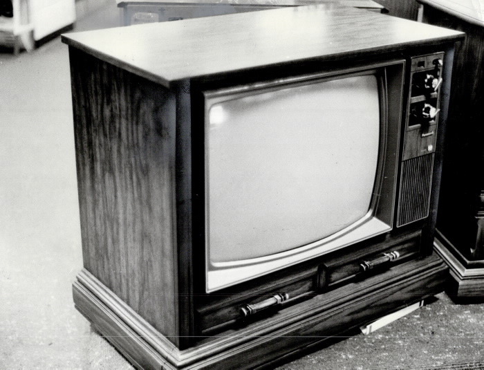 Television set from 1978
