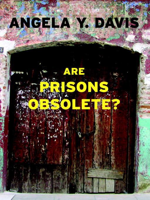 are prisons obsolete, book cover