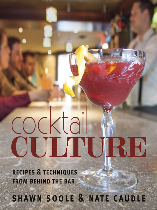 Cocktail Culture Recipes & Techniques from Behind the Bar