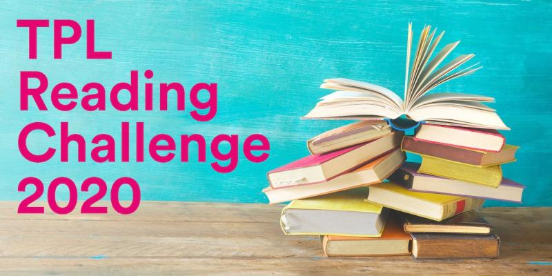 Reading Challenge 2020 logo