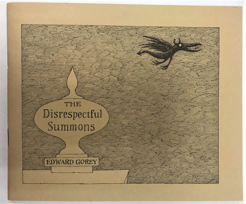 Cover of The Disrespectful Summons by Edward Gorey