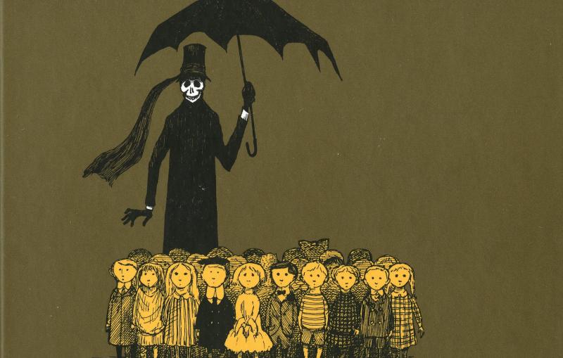Cover of The Gashlycrumb Tinies by Edward Gorey