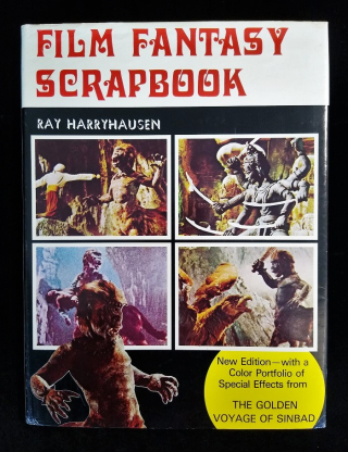 Book cover of Film Fantasy Scrapbook illustrated with four film stills