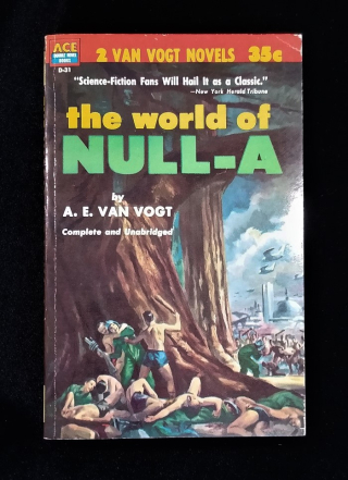 Book cover of World of Nulla. Illustration shows a battle in foreground with futuristic city in background.