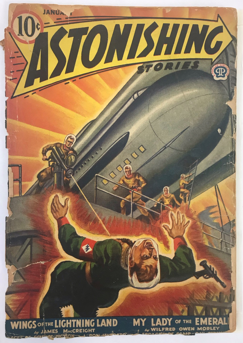 Cover of Astonishing Stories (January 1942 issue)