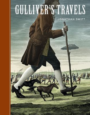 Cover of Gulliver's Travels by Jonathan Swift and illustrated by Scott McKowen