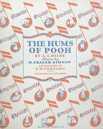 Cover of The Hums of Pooh