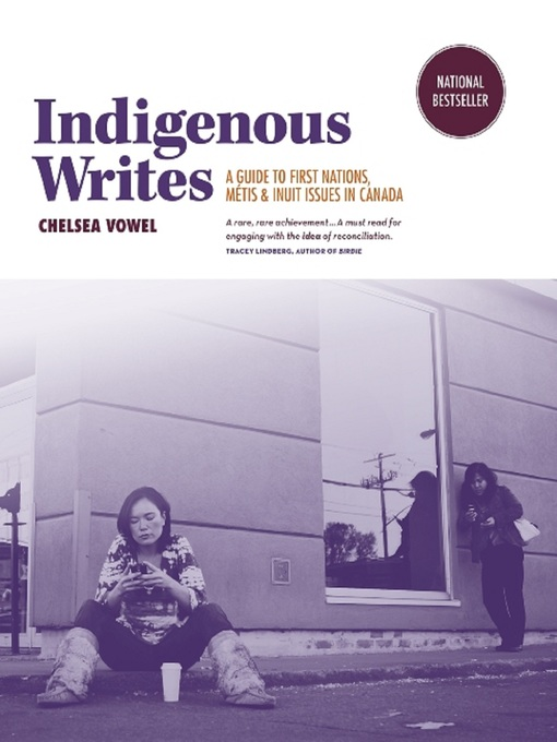 Indigenous Writes by Chelsea Vowel