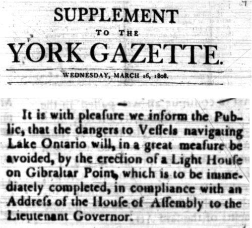 Two screenshots of old newspaper with the title Supplement to the York Gazette Wednesday March 16 1808