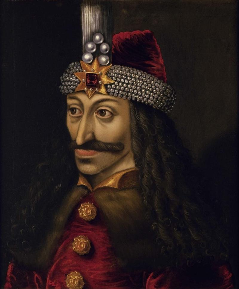 Portrait of Vlad III Prince of Wallachia