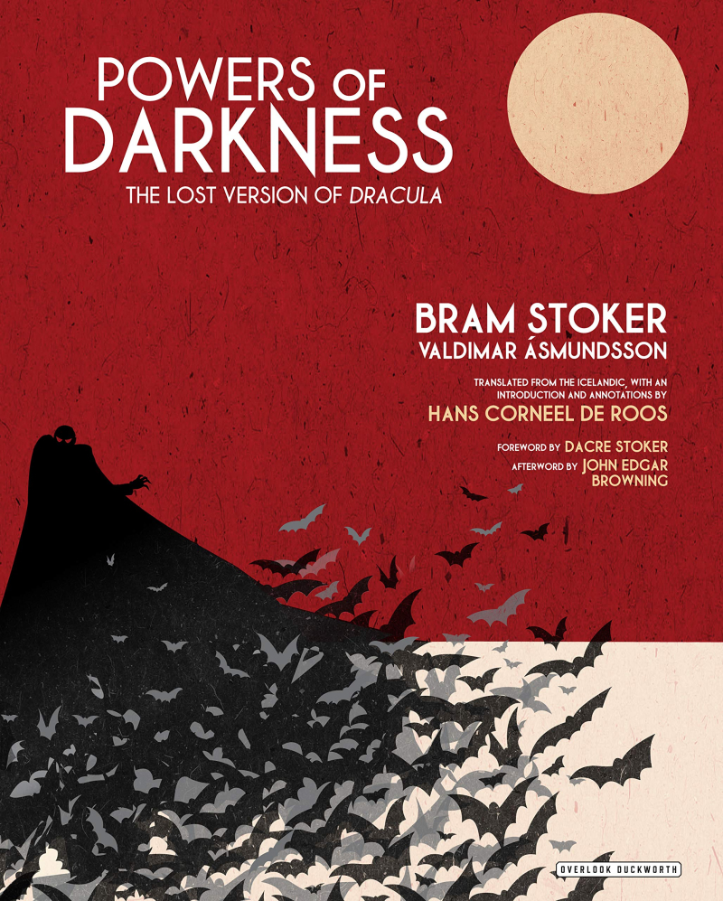 Cover of Powers of Darkness The Lost Version of Dracula