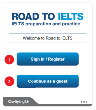 Getting Started Road to IELTS General