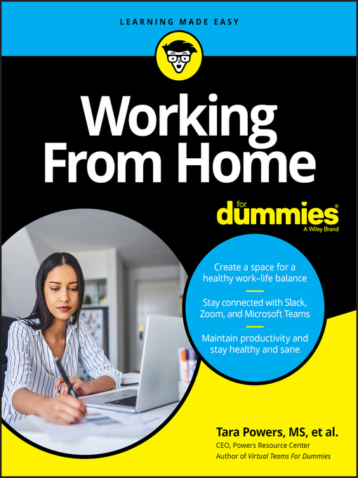 Working from Home for Dummies Tara Powers