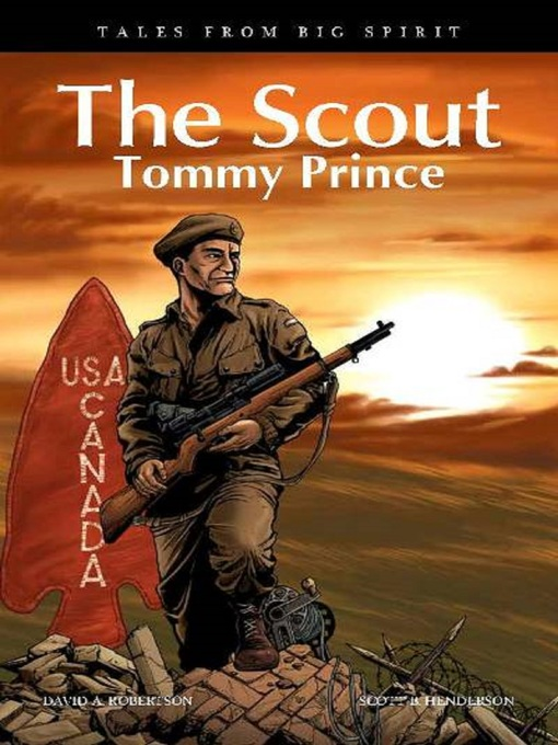 The Scout - Tommy Price by David Alexander Robertson