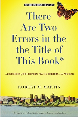 There Are Two Errors In The The Title Of This Book by Robert M. Martin