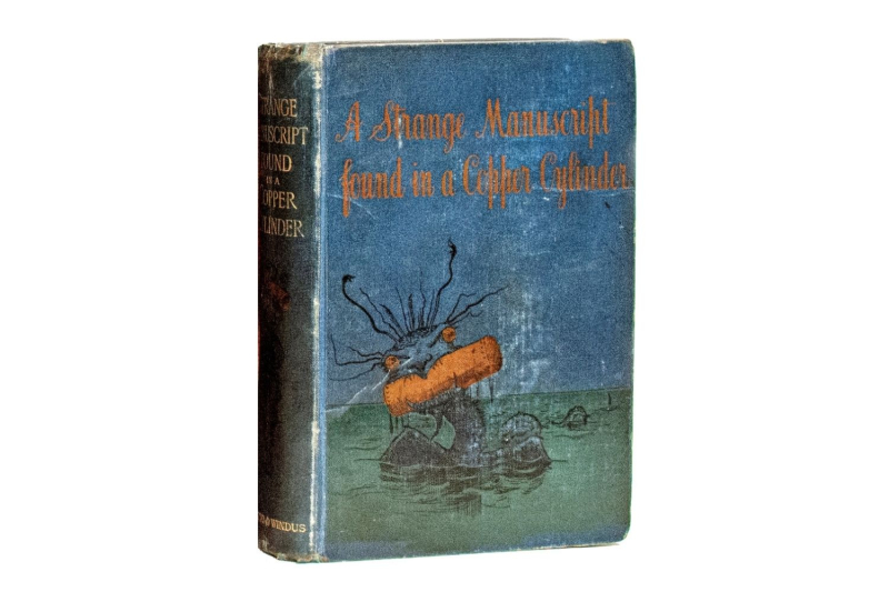 Cover of A Strange Manuscript Found in a Copper Cylinder by James De Mille