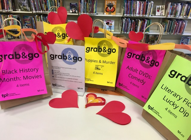 Grab and go bags