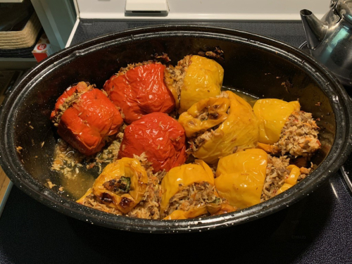 Stuffed Peppers by Bill V for his Mom