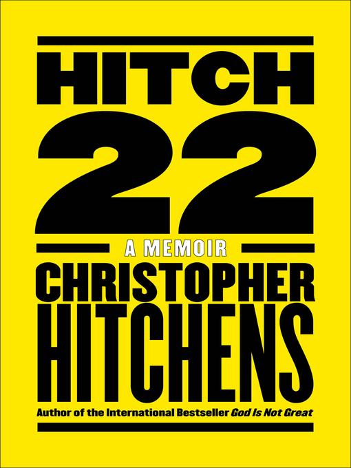 Hitch-22 a memoir
