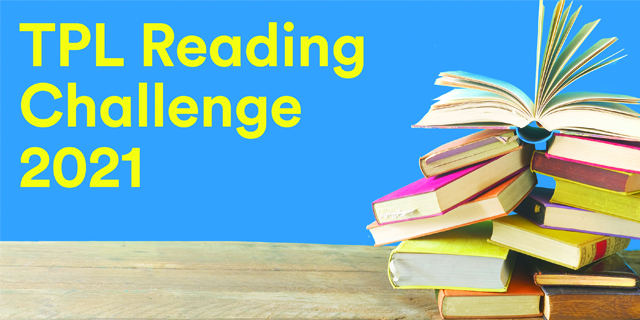 TPL Reading challenge 2021 blog banner