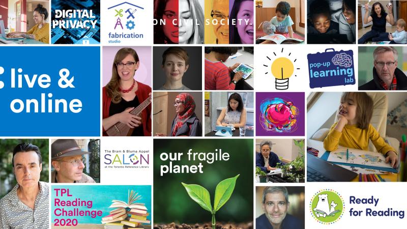 TPL Live and Online Program logo