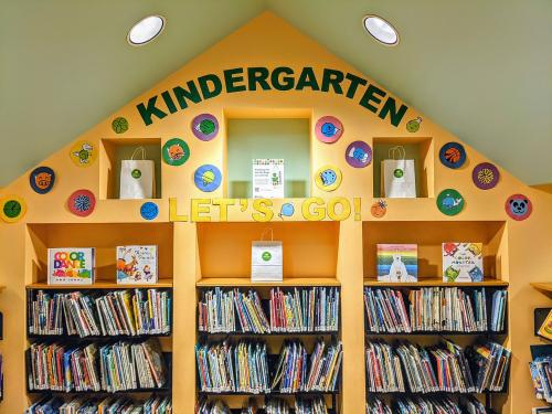 Kindergarten Let's Go! Activity Bags at TPL