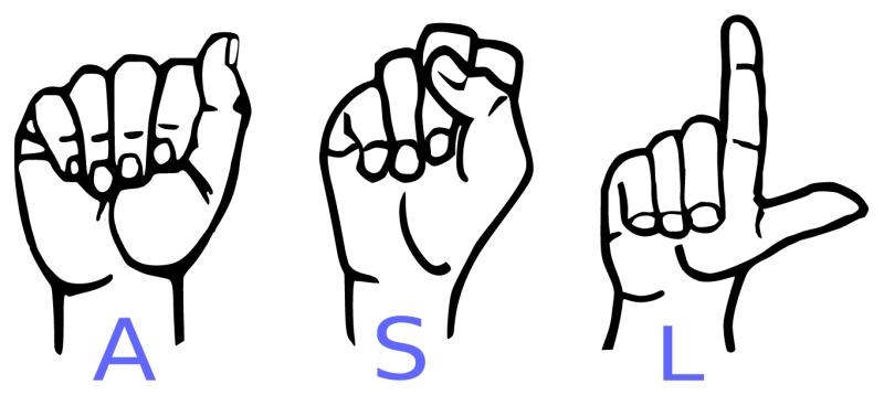 ASL handshapes